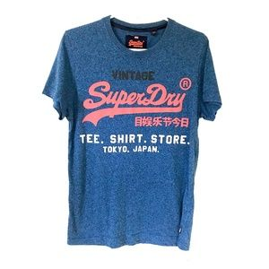Vintage SuperDry* Japan Spell Out Graphic T-Shirt